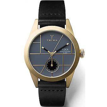 Triwa AKST105SS watch - Watch leather black Bo tier steel Dor woman