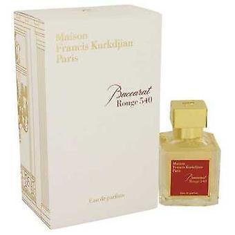 Baccarat Rouge 540 Par Maison Francis Kurkdjian Eau De Parfum Spray 2.4 Oz (femmes) V728-539149
