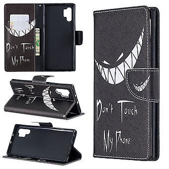 Para Samsung Galaxy Note 10+ Plus Caso Smirk PU Capa de carteira de couro