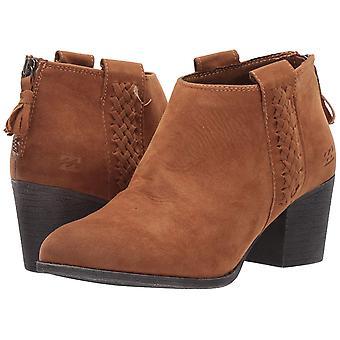 Billabong Women's in The Deets Ankle Boot, Nutmeg, 9 Medium US