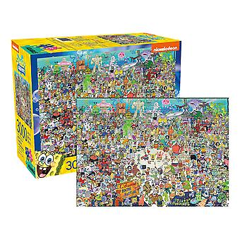 سبونجبوب squarepants 3000pc اللغز