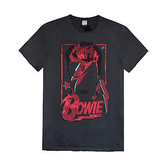 Amplified David Bowie Aladdin Sane Miesten T-paita