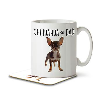 Chihuahua Dad - Mug and Coaster