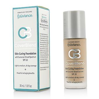 Cover blend skin caring foundation spf20 # neutral beige 192866 30ml/1oz