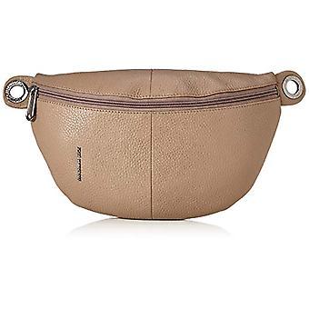Mandarin Duck Mellow Leather Bum Bag/Black Grey Woman Shoulder Bag (Amphora) 0.01x0.01x0.01 cm (W x H x L)