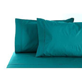Jenny Mclean La Via 400TC 100% Cotton 4-Piece Sheet Set - Q/Aqua