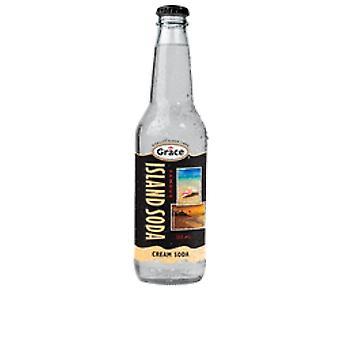 Grace Island Soda Cream Soda-( 355 Ml X 12 Bokser)
