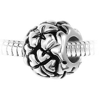 Steel Pearl Charm från SC Crystal BEA0263