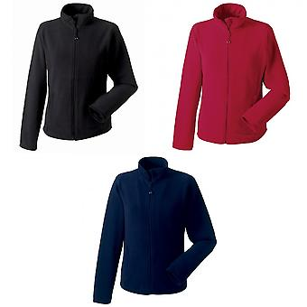 Russell Europe Womens/Ladies Full Zip Fitted Anti-Pill Microfleece Top