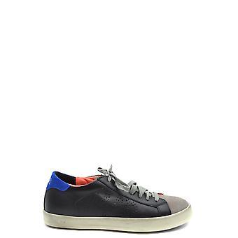 P448 Ezbc283011 Men's Multicolor Leather Sneakers