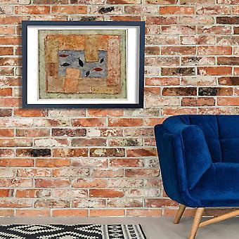 Paul Klee - Fische Sprengel Poster Print Giclee