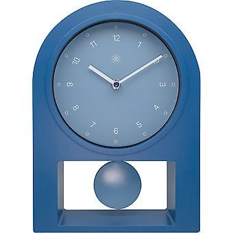 nXt - Tischuhr - 30 x 20 cm - Kunststoff - Benzin - 'Swing Table'