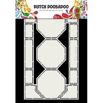 Hollandsk Doobadoo Card kunst Octagons 250 x 150mm 470.713.713