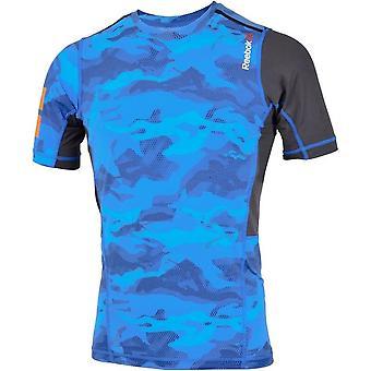 リーボックワンシリーズエリートQuik AJ0832ユニバーサルオールイヤーメンズTシャツ