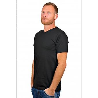 Alan Red T-Shirt Vermont Black (Two Pack)