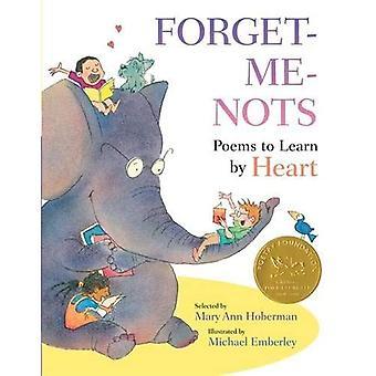 Vergissmeinnicht: Gedichte auswendig lernen