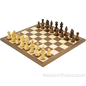 Down Head Knight Academy Large Chess Set