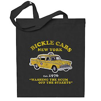 Chauffeur de taxi Bickle Cabs Totebag