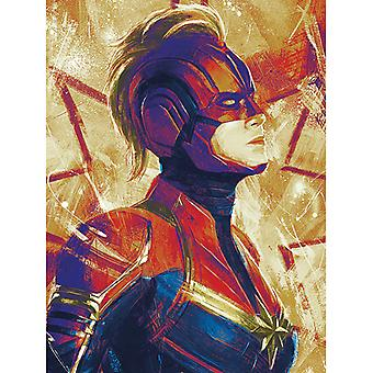 Kapteeni Marvel Paint Canvas Levy 30 * 40cm