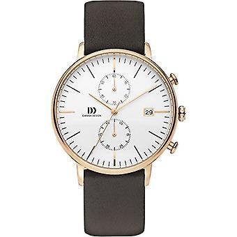 Danish Designs DZ120574-wrist watch, Man, skin, color: Brown