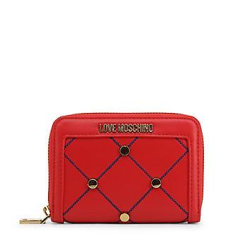 Love Moschino Women Red Wallets -- JC56487472