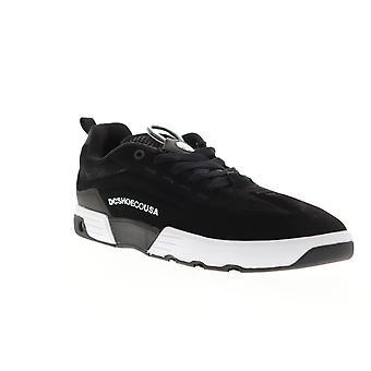 DC Legacy 98 Vac S Mens Black Suede Low Top Skate Sneakers Chaussures