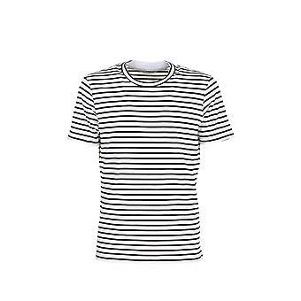 Brunello Cucinelli Mts577423ce065 Men's White/black Cotton T-shirt