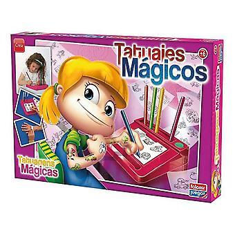 Craft Game Tatuajes Magicos Falomir Pink