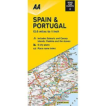 Road Map Spain & Portugal - 9780749582135 Book