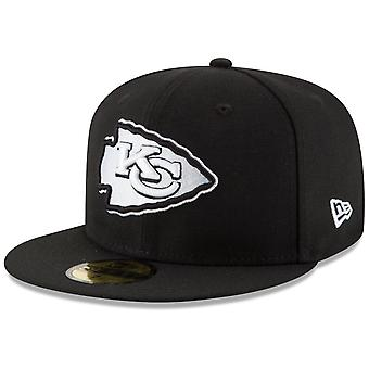 New Era 59Fifty Fitted Cap - NFL Kansas City Chiefs schwarz