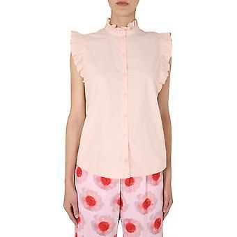 Baum Und Pferdgarten 21011c2085 Women's Pink Cotton Shirt