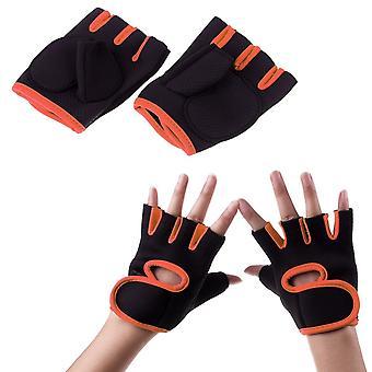 Gants d'entraînement Conçu pour la circulation maximale d'air Orange