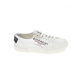 Givenchy Be000pe0pf100 Women's White Leather Sneakers