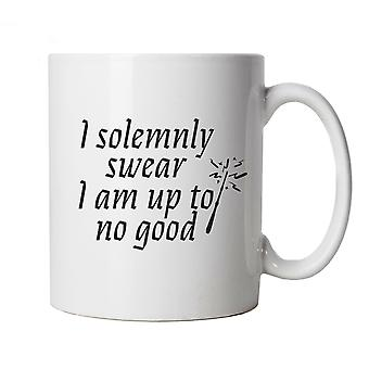 I Solemnly Swear I Am Up To No Good Mug Cup Gift - Movie Mischief Potter Weasley