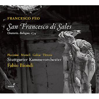 Feo / Galou / Biondi - San Francesco Di Sales [CD] USA import