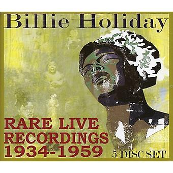 Billie Holiday - Rare Live Recordings 1935-1959 [CD] USA import