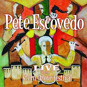 Pete Escovedo - Live From Stern Grove Festival [CD] USA import
