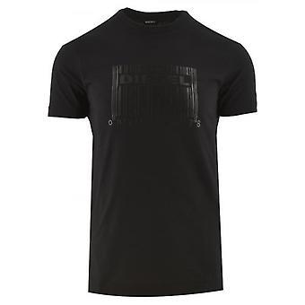 ديزل الأسود تي دييغو N35 شعار تي شيرت