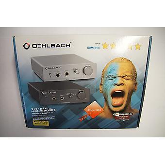 B Ware Oehlbach headphone amplifier with integrated converter XXL DAC Ultra black