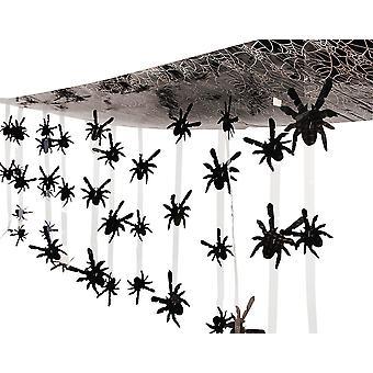 Halloween Spider Hængende Loft Dekoration til fester - 3.65m