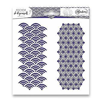 Geometria Di Aladine Stencil Duo