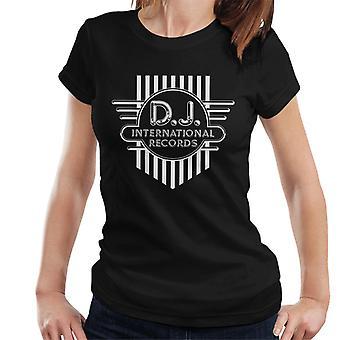 DJ International Records Cross Logo Women's T-Shirt