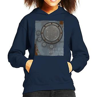 The Crystal Maze Lighter Good Feeling Rust Panel Kid's Hooded Sweatshirt