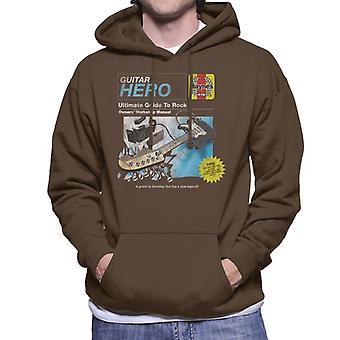 Haynes Guitar Owners Workshop Manual Men's Hooded Sweatshirt