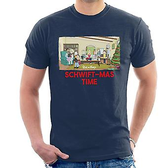 Rick und Morty Schwiftmas Time Technology Übernahme Men's T-Shirt