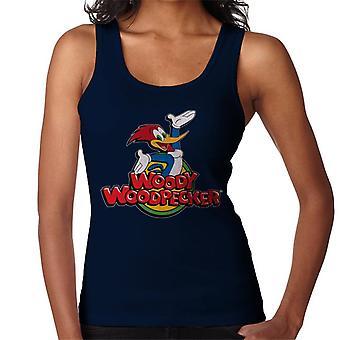 Woody Woodpecker Classic Logo Women's Vest