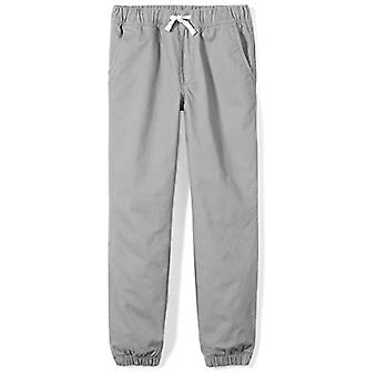 Brand - Spotted Zebra Little Boys' Woven Jogger Pants, Grey, X-Small (...