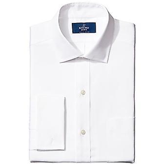BOTONED ABAJO hombres's clásico ajuste francés manguito spread-collar no hierro vestido...