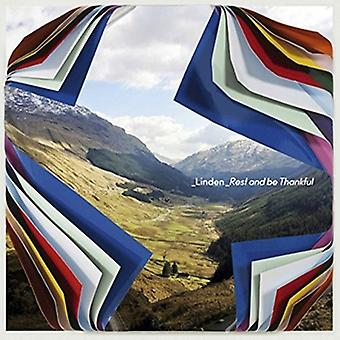 Linden - Rest & Be Thankful [CD] USA import