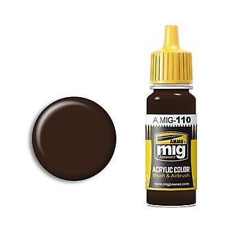 Ammo by Mig Acrylic Paint - A.MIG-0110 SCC 1A  (British Brown 1941-42) (17ml)